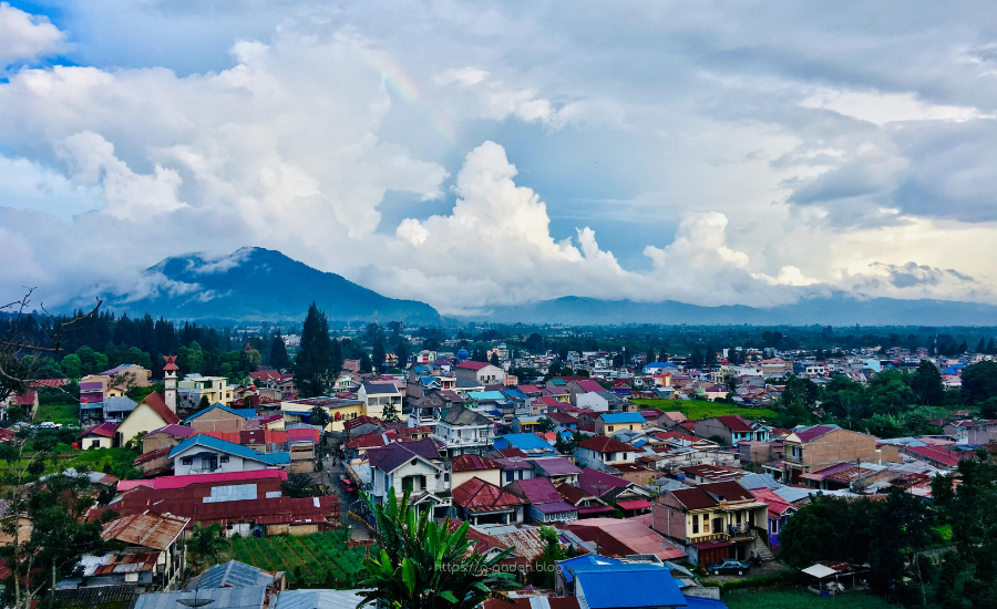 قرية بيراستاقي سومطرة إندونيسيا