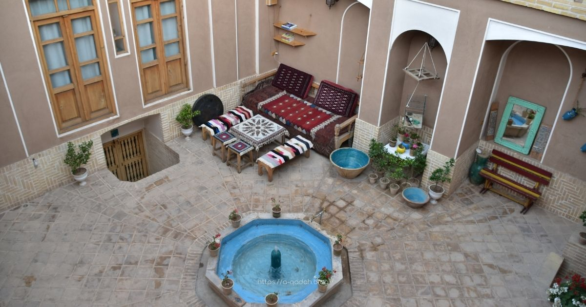 Sayeh Saray Traditional Hostel Kashan Iran