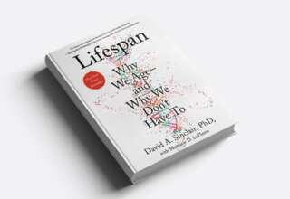 كتاب Lifespan عن الشيخوخة والتقدم في العمر مدى الحياة ديفيد سنكلير