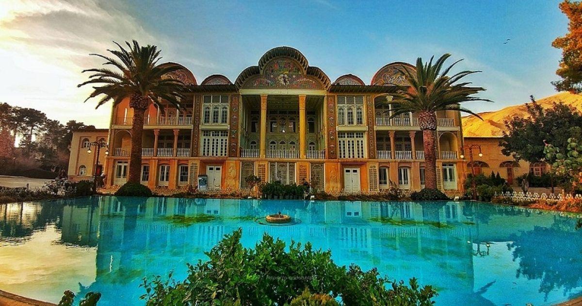 Eram garden Shiraz Iran