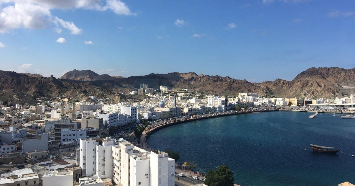 كورنيش مسقط سلطنة عمان