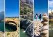 أودية في سلطنة عمان وادي الضيقة وادي العربيين وادي شاب هوية نجم الشاطئ الأبيض