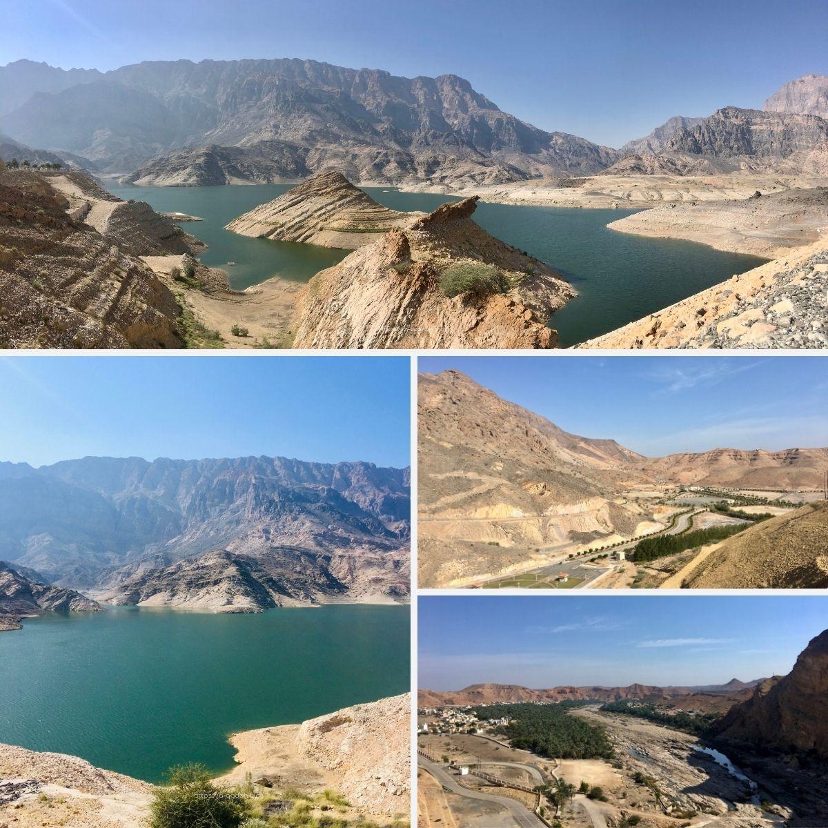سد وادي الضيقة أودية في سلطنة عمان